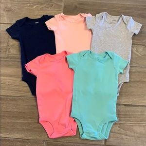 BUNDLE ONLY - Solid Color Bodysuits